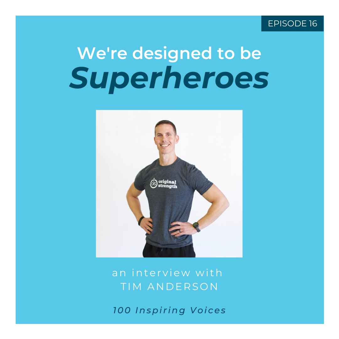 100 Inspiring Voices | Episode 16 | Tim Anderson