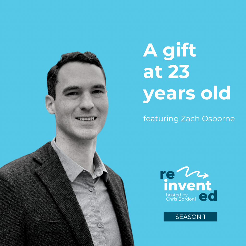 Reinvented | Season 1 | Zach Osborne | A gift at 23 years old